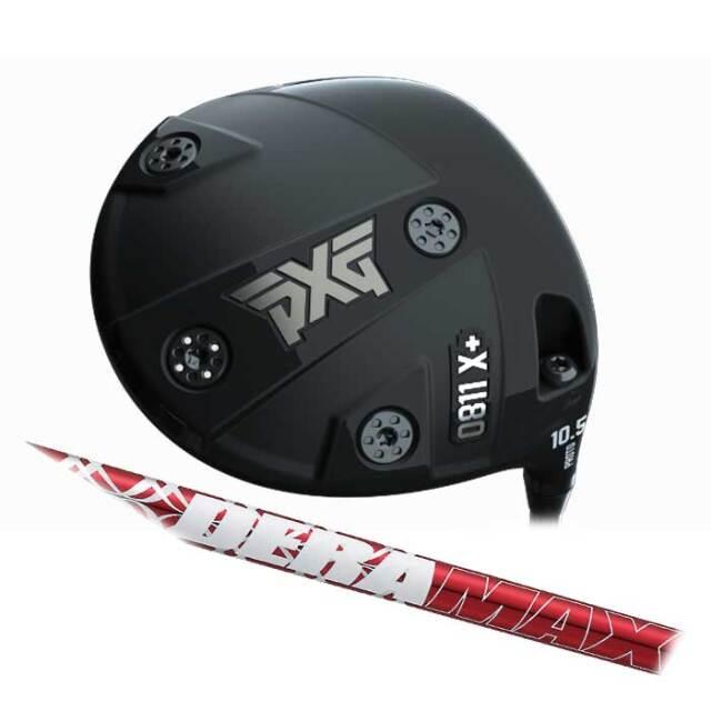 【数量限定】PXG 0811 X+ Prototype ドライバー  DERA MAX 020 Premium series オリムピック デラマックス 020 プレミアムシリーズ  シャフト
