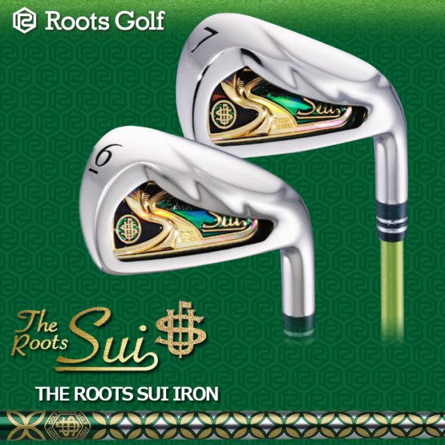 2017年モデル ROOTS GOLF ルーツゴルフ Sui アイアンセット 6-AW Sui シャフト 粋