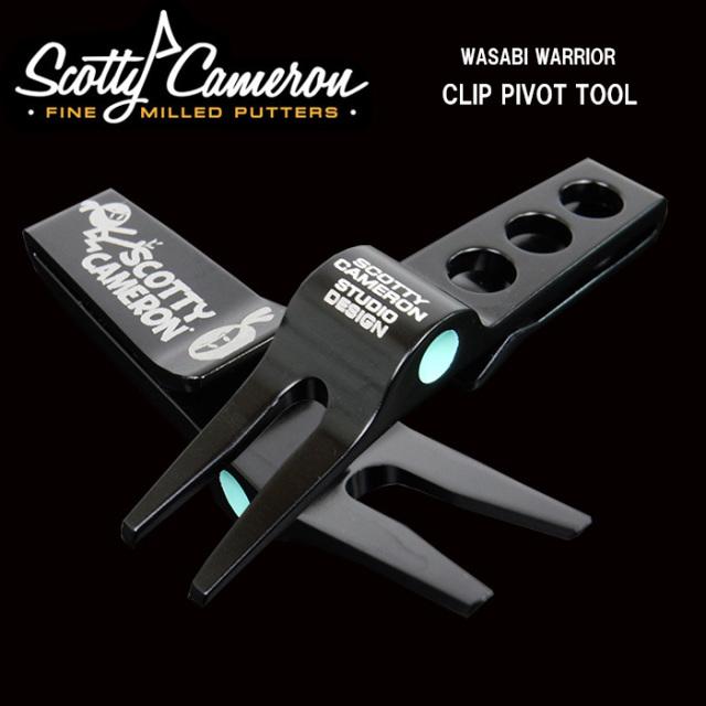 スコッティキャメロン 2017 CLIP PIVOT TOOL WASABI WARRIOR ブラック SCOTTY CAMERON 正規品