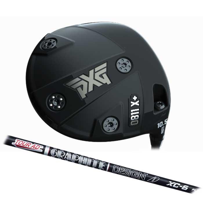 【数量限定】【予約販売】【7月20日発売予定】PXG 0811 X+ Prototype ドライバー  Tour AD XC  グラファイトデザイン ツアーAD XC シャフト