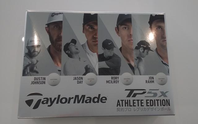 テーラーメイド TP5x ATHLETE EDITION[限定モデル] ゴルフボール 1ダース 12球 TaylorMade