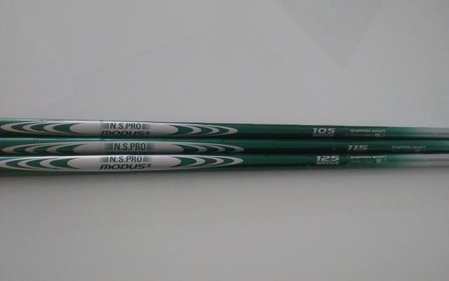 日本シャフト【N.S.Pro Modus3 Wedge Limited Green SHAFT】*ヘッド、グリップ別売