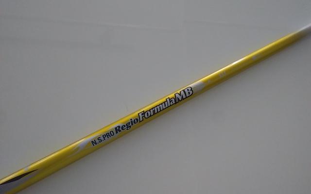 日本シャフト【NS PRO Regio Formula MB DR SHAFT】*ヘッド、グリップ別売