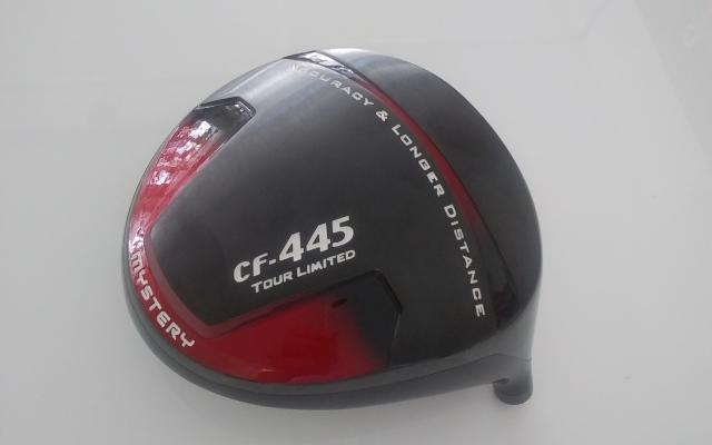 ミステリー ドライバー【MYSTERY CF-445 Tour Limited LESER DRIVER HEAD】*シャフト、グリップ別売、ヘッドカバー付