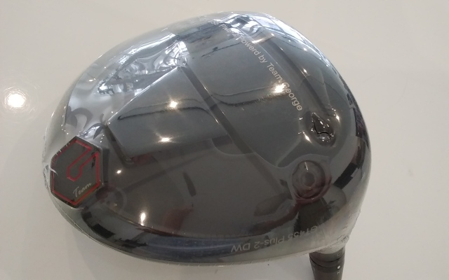 GTD ドライバー【50個限定 GTD 455Plus2プロトタイプ マッドブラック DRIVER HEAD】*シャフト、グリップ別売、ヘッドカバー、レンチ付