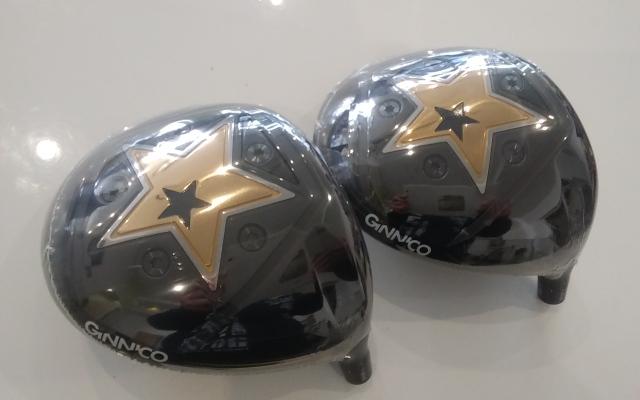 イオンスポーツ ドライバー【GINNICO MODEL01 DRIVER HEAD】*シャフト、グリップ別売、ヘッドカバー付