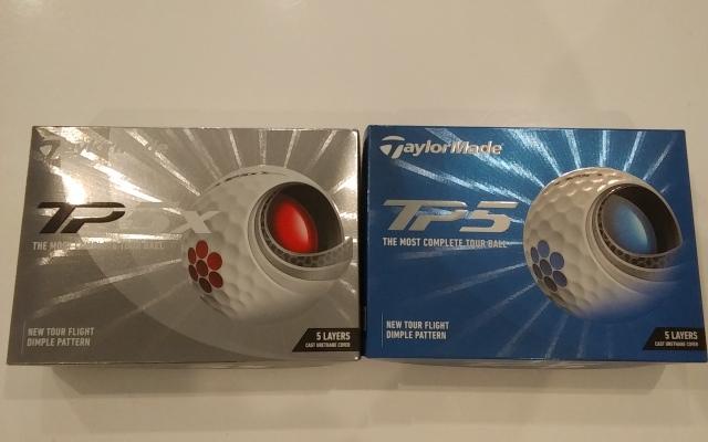テーラーメイド New TP5・TP5x  '21 ゴルフボール 1ダース 12球 TaylorMade