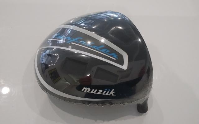 ムジーク ドライバー【Muziik TURFRIDER TITANIUM FORGED460 DRIVER HEAD】*シャフト、グリップ別売、ヘッドカバー付