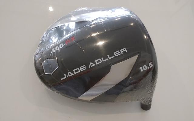 アドラー ドライバー【JADE ADLLER 460-RX DRIVER HEAD】*シャフト、グリップ別売、ヘッドカバー付