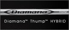 三菱 シャフト【MITSUBISHI Diamana Thump Hybrid SHAFT】*ヘッド、グリップ別売