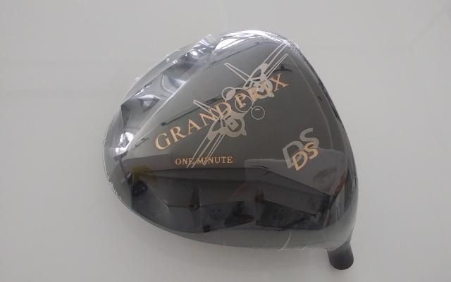 グランプリ ドライバー【GRAND PRIX ONE MINUTE DS DRIVER HEAD】*シャフト、グリップ別売、ヘッドカバー付