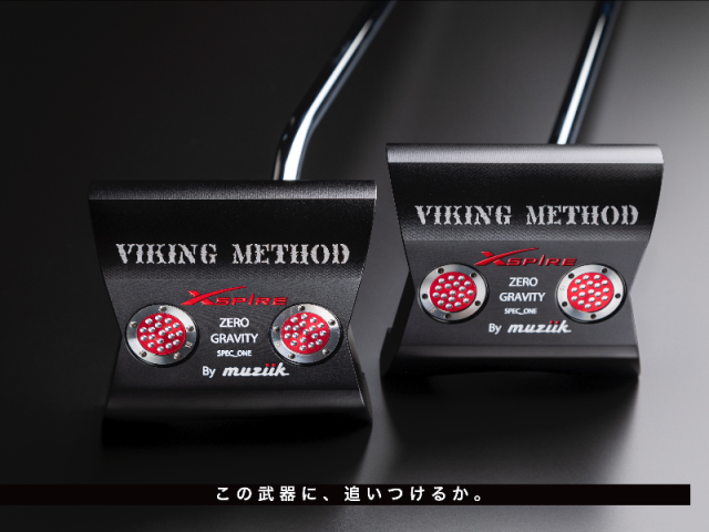 ムジーク パター【Muziik Xspire Viking Method_zero gravity PUTTER】