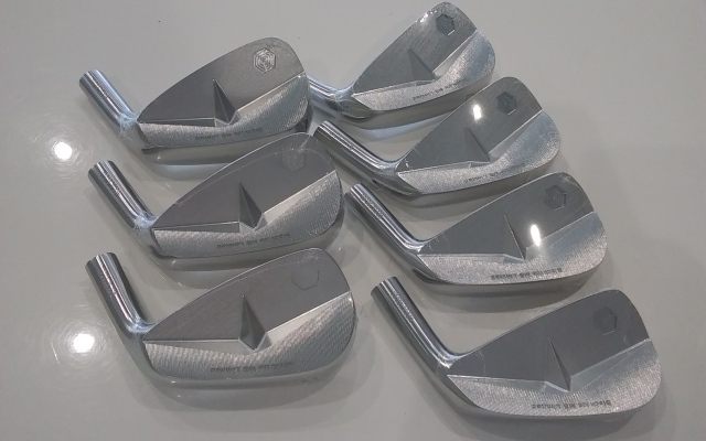 GTD アイアンセット【GTD Black Ice Forged MB Limited IRON HEAD】*シャフト、グリップ別売