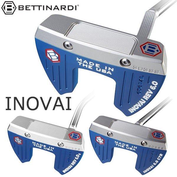 ベティナルディ パター【BETTINARDI INOVAI6.0 Series 2020モデル 日本正規品 PUTTER】ヘッドカバー付