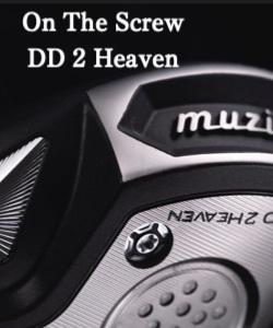 ムジーク ドライバー【Muziik On The Screw DD 2 HEAVEN DRIVER HEAD】*シャフト、グリップ、ヘッドカバー、レンチ別売