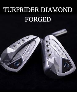 ムジーク アイアンセット【Muziik TurfRider Diamond Forged アイアン HEAD】*シャフト、グリップ別売