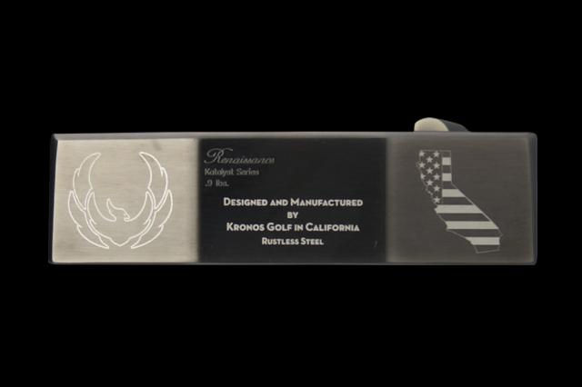 クロノス パター【KRONOS RENAISSANCE RS PUTTER】34インチ ヘッドカバー付