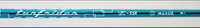 ムジーク シャフト【Muziik TURFRIDER TR-5 DR SHAFT】*ヘッド、グリップ別売