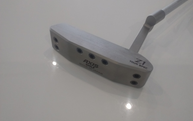 アクシスゴルフ【AXIS Z1 PUTTER HEAD】*シャフト、グリップ別売、ヘッドカバー付