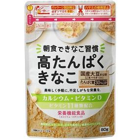 高たんぱくきなこ80g栄養機能食品 (4個セット) 【お試し便可】