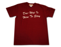 "GKT-022半袖Tシャツ""Do-Wop Is Here To Stay"""