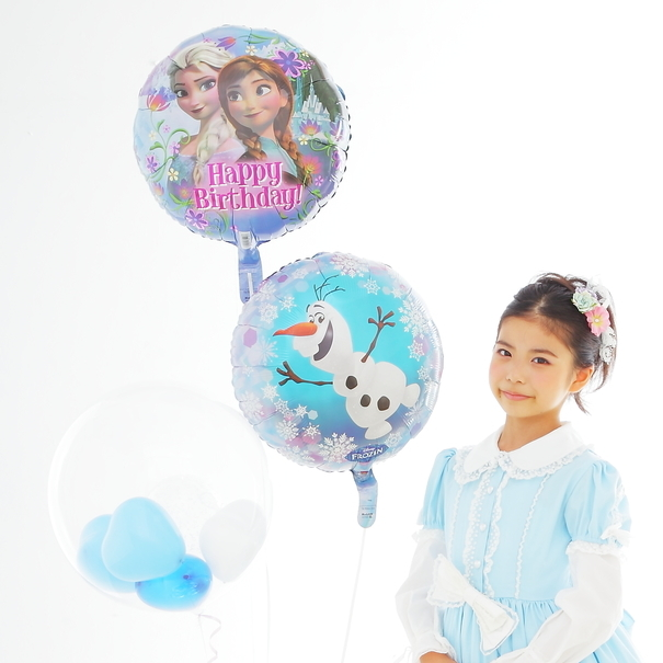 アナ雪バルーンギフトお誕生日にお勧めです