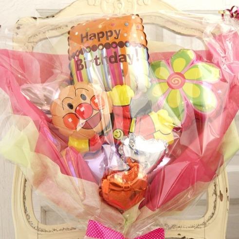 バルーンブーケ♪子供の発表会お誕生日はアンパンマンブーケで決まり♪