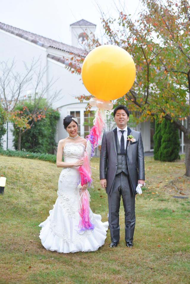 フリンジバルーン結婚式に大人気!海外ウェディングの定番北九州近郊のみ