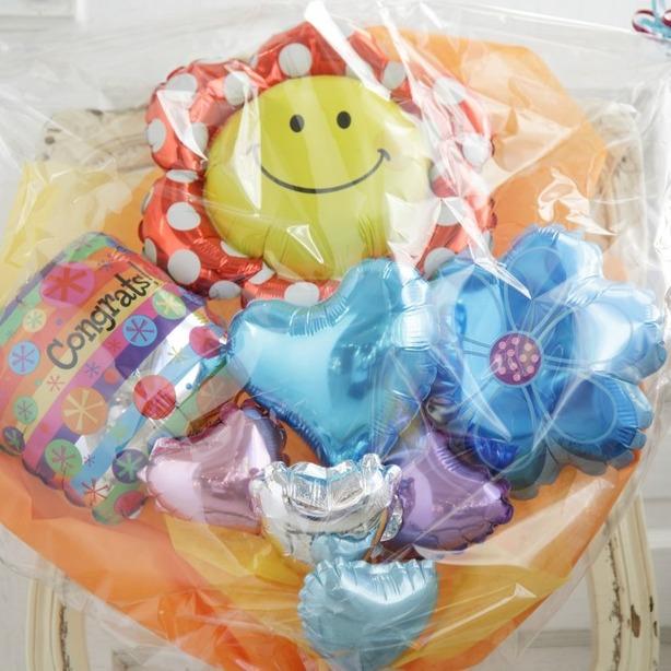 バルーンブーケ♪出産祝い子供の発表会お誕生日はフラワーブーケで決まり♪