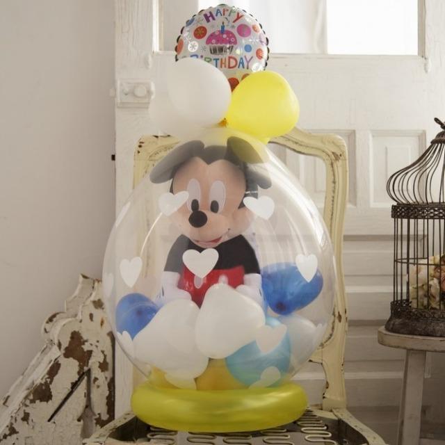 ラッピングバルーン♪ミッキー(小)約15cm手のひらサイズです♪ギフト・誕生日お勧めです