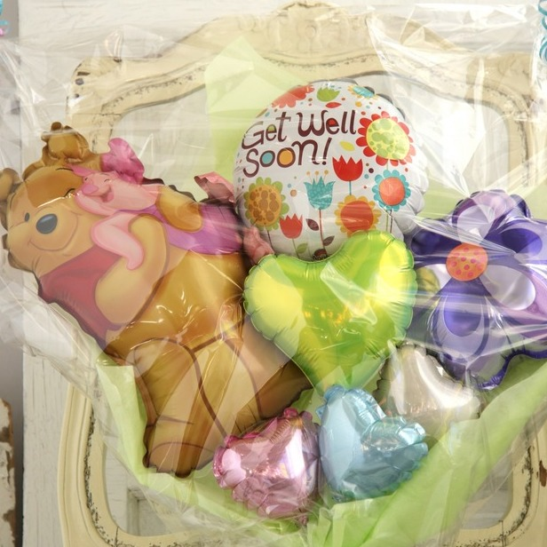 バルーンブーケ♪子供の発表会お誕生日はディズニープーさんブーケで決まり♪