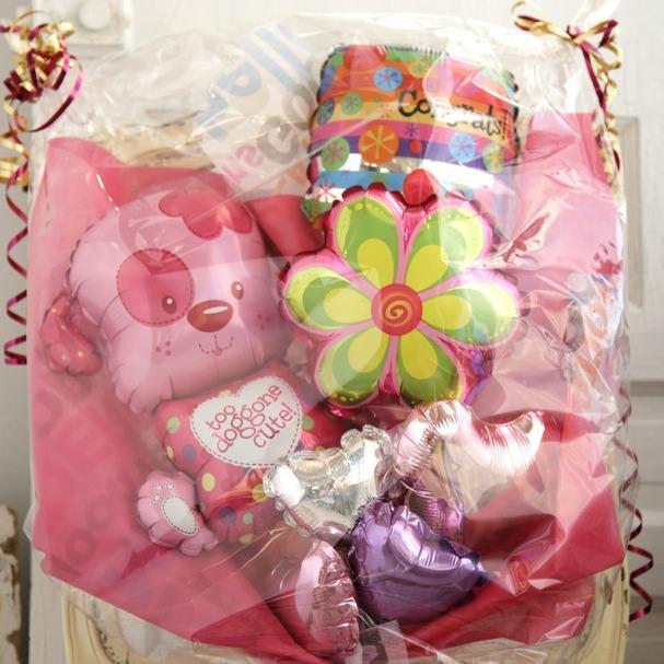 バルーンブーケ♪出産祝い子供の発表会お誕生日はワンちゃんブーケで決まり♪