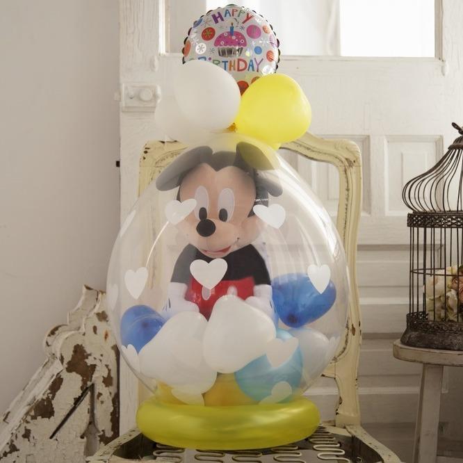 ラッピングバルーン♪ミッキー(大)約40cmBigサイズです♪ギフト・誕生日お勧めです