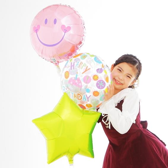 ニコちゃんお誕生日バルーン