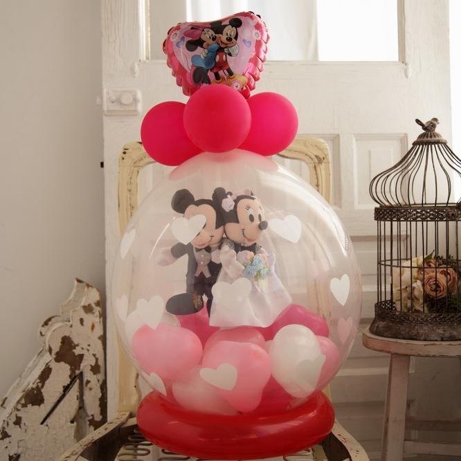 ラッピングバルーン♪ミッキー&ミニーの結婚・ウェディング洋装・和装
