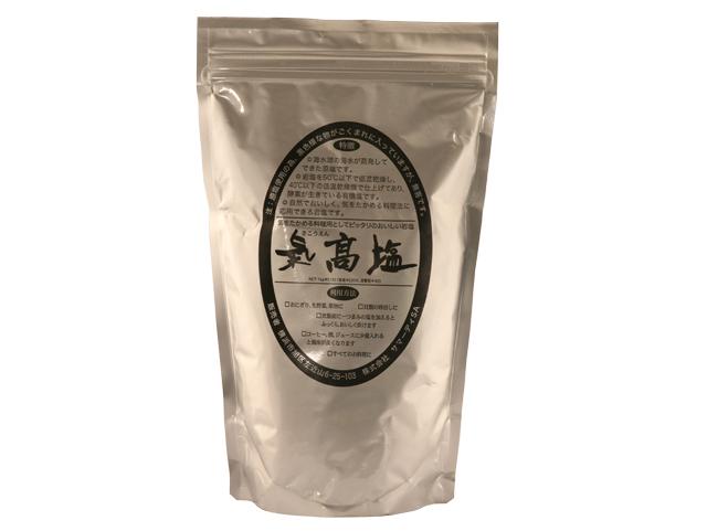 気高塩 低温殺菌ミネラル豊富の自然岩塩
