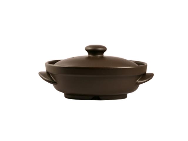 省エネ電磁波の心配がなく旨みアップ電子レンジ調理鍋 小判型鍋(磁性鍋)