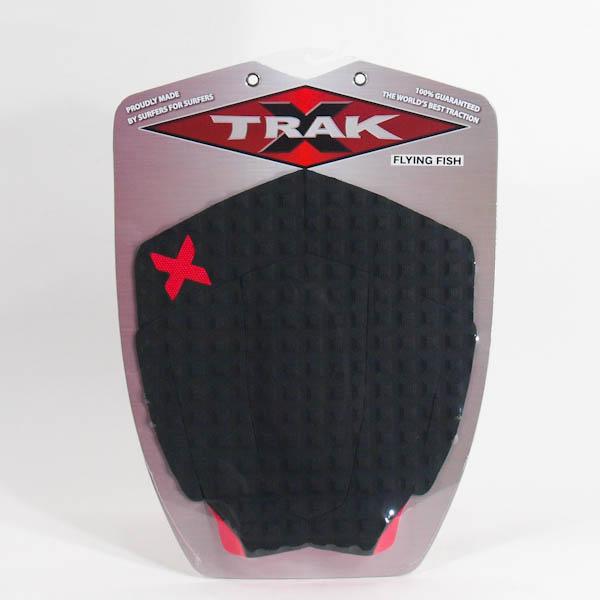 エックストラック デッキパッド FLYING FISH ブラック X TRAK