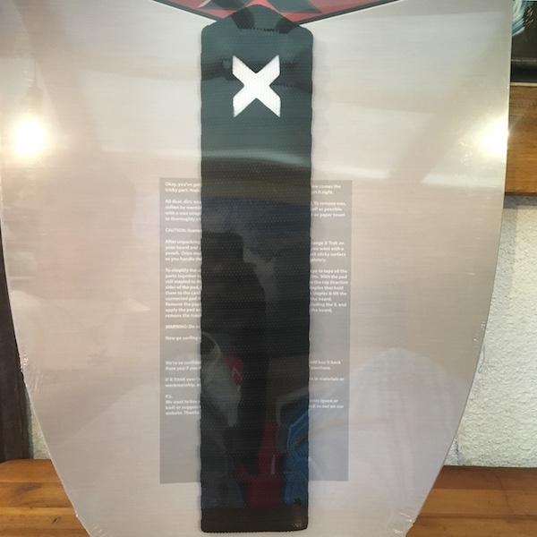 エックストラック デッキパッド アーチバー ブラック X TRAK ARCH BAR