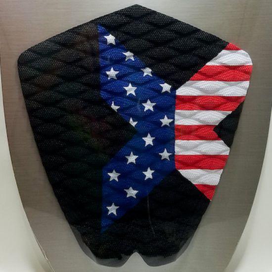 エックストラック デッキパッド FLAG ブラック X TRAK