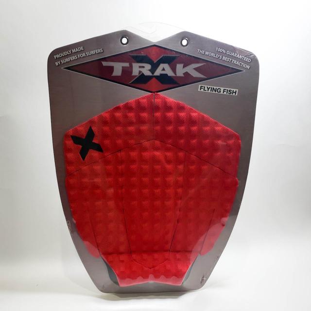 エックストラック デッキパッド FLYING FISH レッド X TRAK