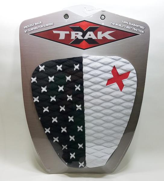 エックストラック デッキパッド ICON  ブラック x ホワイト X TRAK