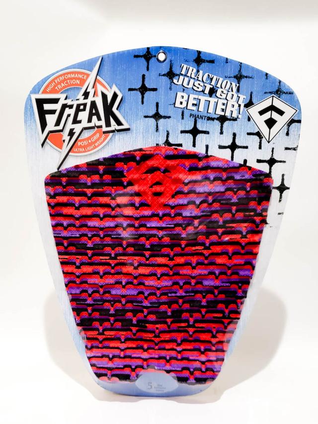 フリーク デッキパッド PHANTOM レッド&パープル x ブラック Freak