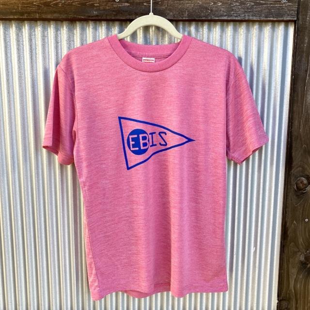送料無料 EBIS・エビス メッシュ Tシャツ レッド