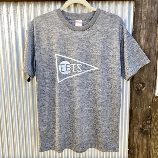 送料無料 EBIS・エビス メッシュ Tシャツ グレー