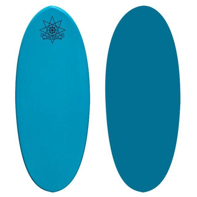 サンチャイルドスキムボード スケーター ターコイズブルー 送料無料 即納
