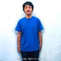 エビススキムボード ワンポイントTシャツ ブルー