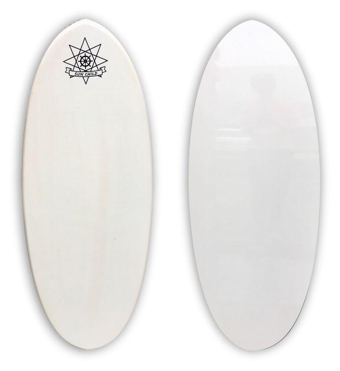 サンチャイルドスキムボード スケーター ホワイト 送料無料 即納