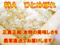 【特A・一等米】 H29年産 宮城登米産ひとめぼれ 白米 5kg