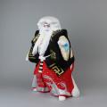 後藤博多人形 濃彩鏡獅子